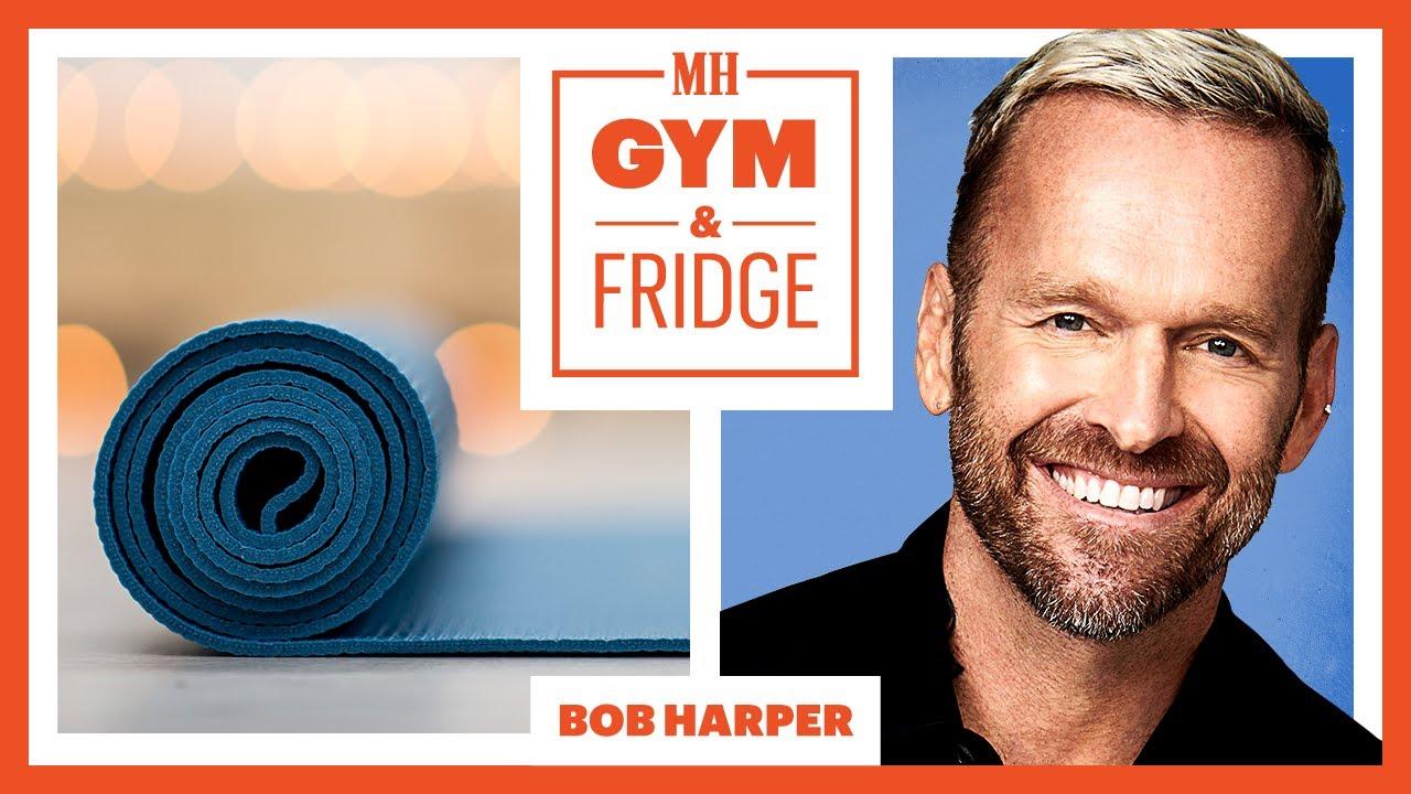 Bob Harper Shows His Home Gym & Fridge | Gym & Fridge | Men's Health