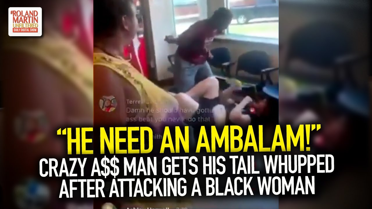 """He Need An Ambalam!"" Crazy A$$ Man Gets His Tail Whupped After Attacking A Black Woman"