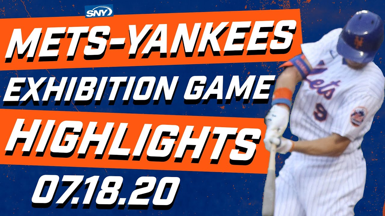 Highlights from the Mets-Yankees first exhibition game | New York Mets | SNY