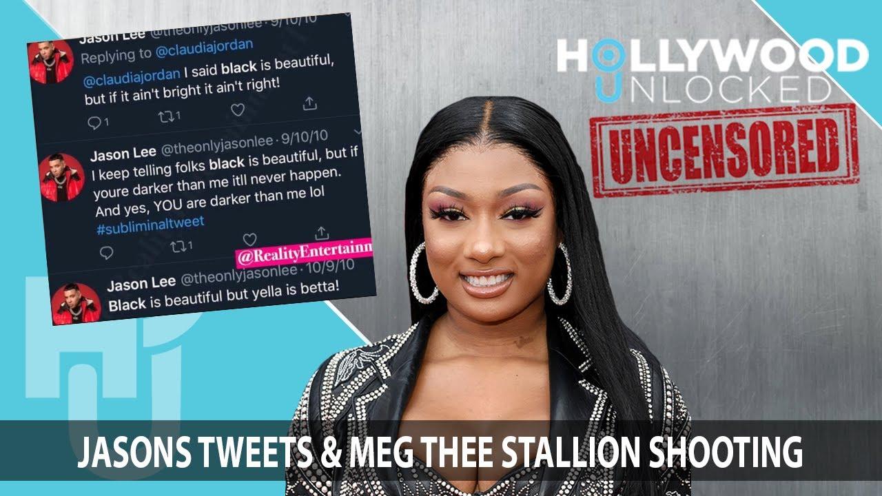 Jason Lee Responds to Old Tweets & Meg Thee Stallion Shooting on Hollywood Unlocked [UNCENSORED]