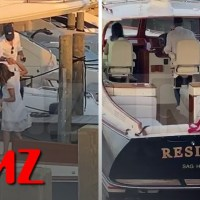 Matt Lauer Dines with Mystery Woman Before Yachting on 'Resilient' | TMZ