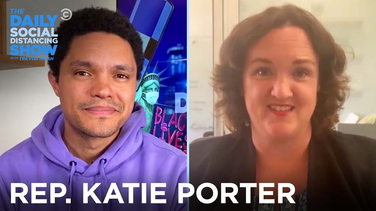 Rep. Katie Porter - When & How Should Schools Reopen? | The Daily Social Distancing Show