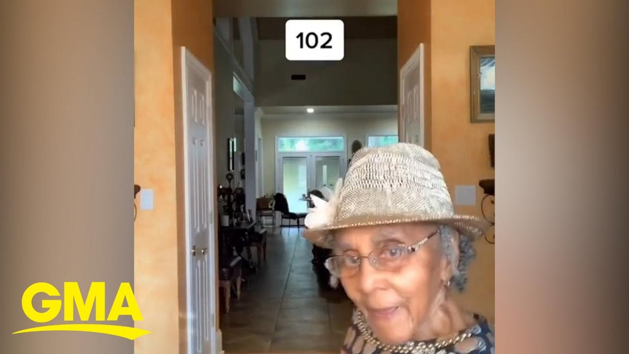Sweet video shows 4 generations of family, including 102-year-old great grandma l GMA Digital