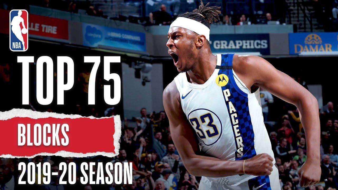 Top 75 Blocks   2019-20 NBA Season