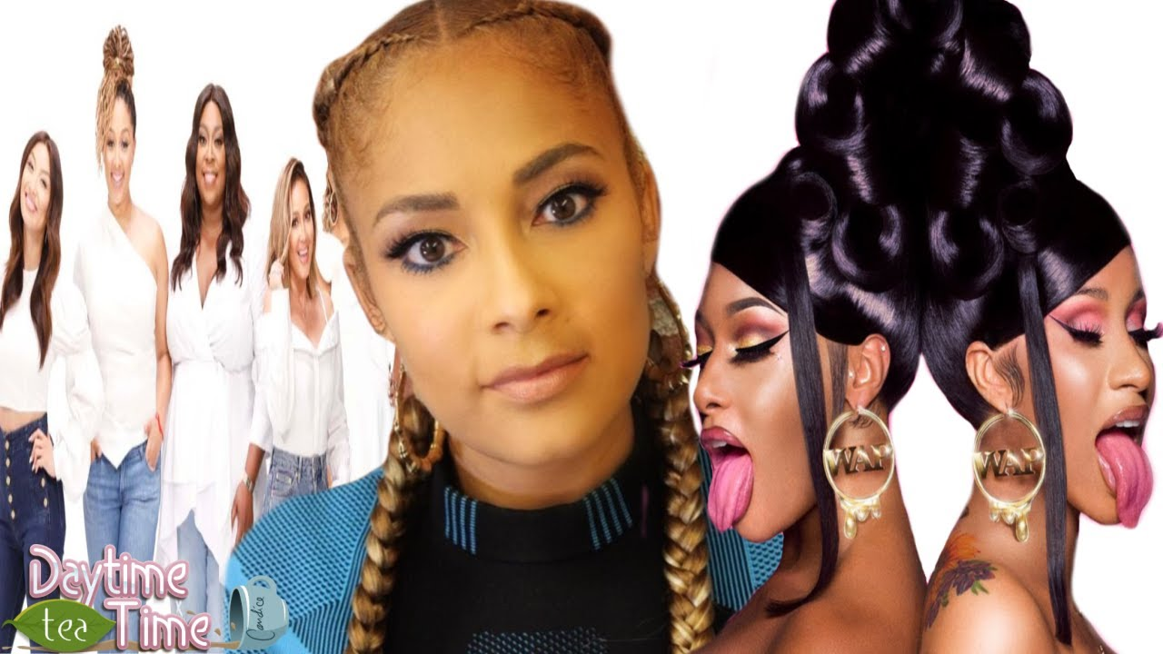 Amanda Seales tells DETAILED story how THE REAL did her WRONG + Cardi B, Megan Thee Stallion & MORE