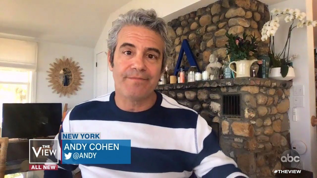 Andy Cohen On Being Prohibited from Donating Plasma After COVID-19 Because He's Gay | The View