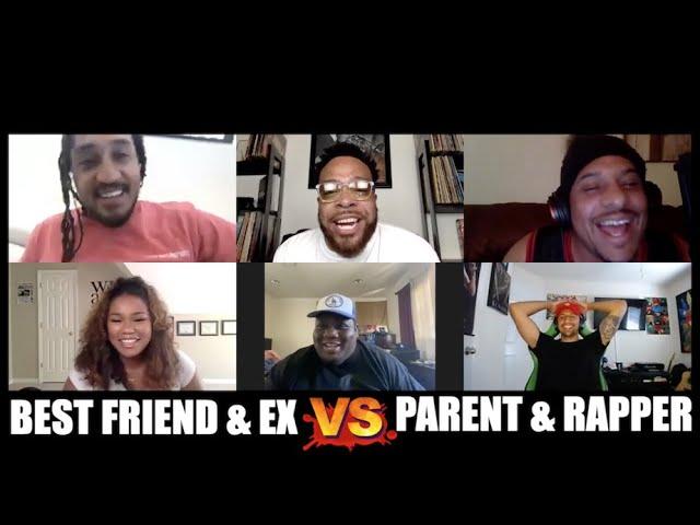 Best Friend W/ Ex vs Parent W/ Rapper | Squadd Cast Versus | Episode 31 I All Def