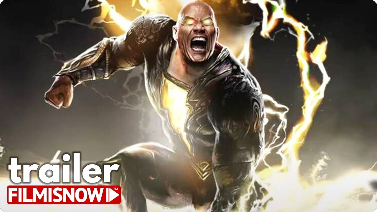 "BLACK ADAM ""DC FanDome"" First Look Trailer (2021) Dwayne Johnson DCU Movie"
