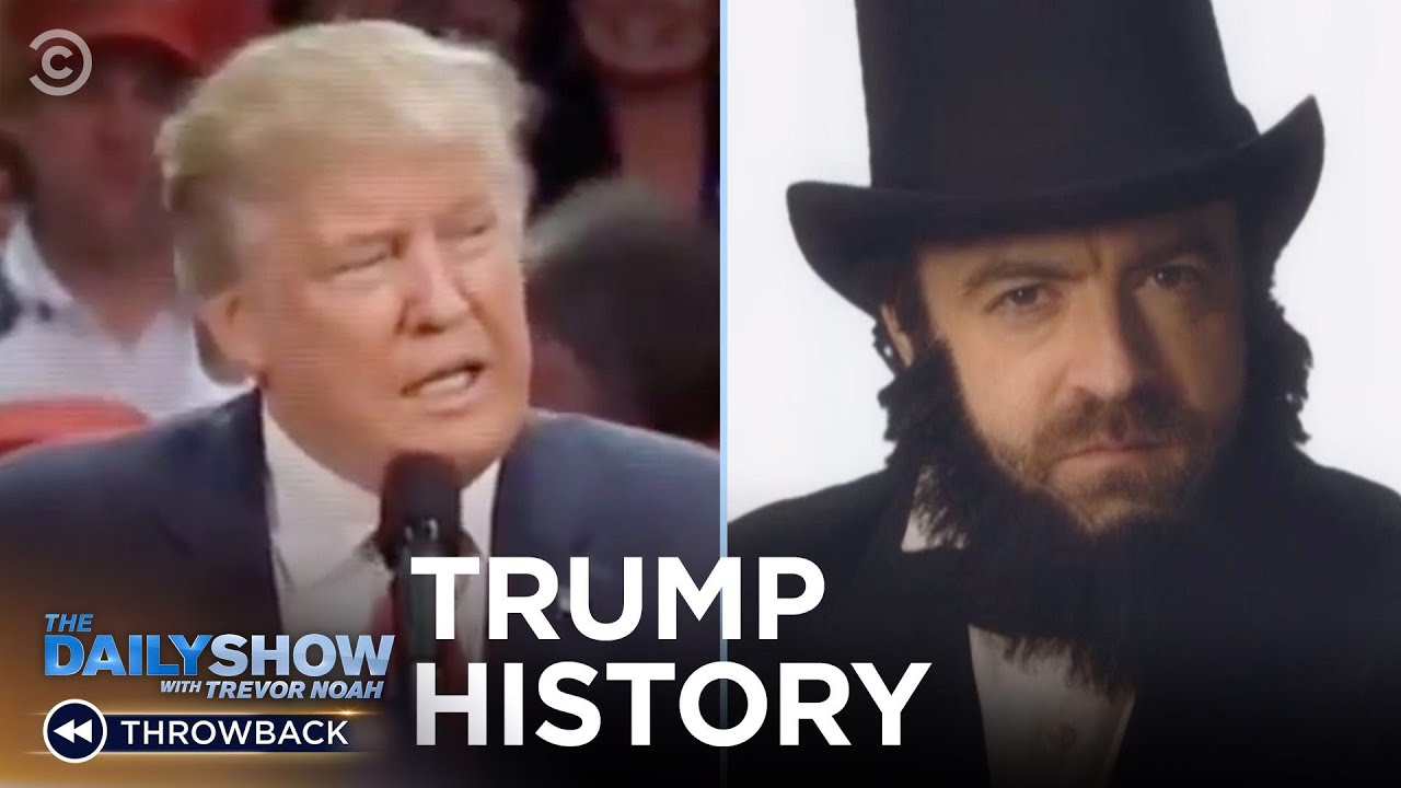 Drunk History: Trump Edition   The Daily Show