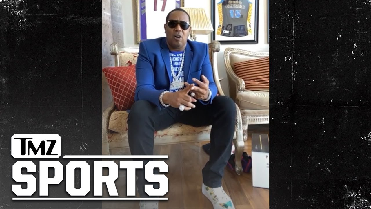 J.Cole Seriously Training for NBA Career, Says Master P   TMZ Sports