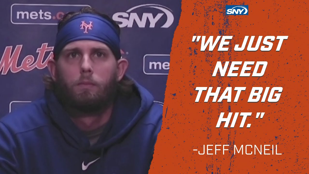 Jeff McNeil is hopeful that the Mets can turn this thing around   New York Mets   SNY