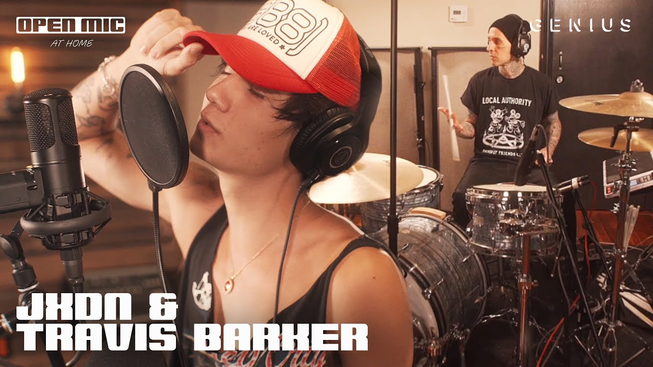 """jxdn & Travis Barker """"So What!"""" (Live Performance) 