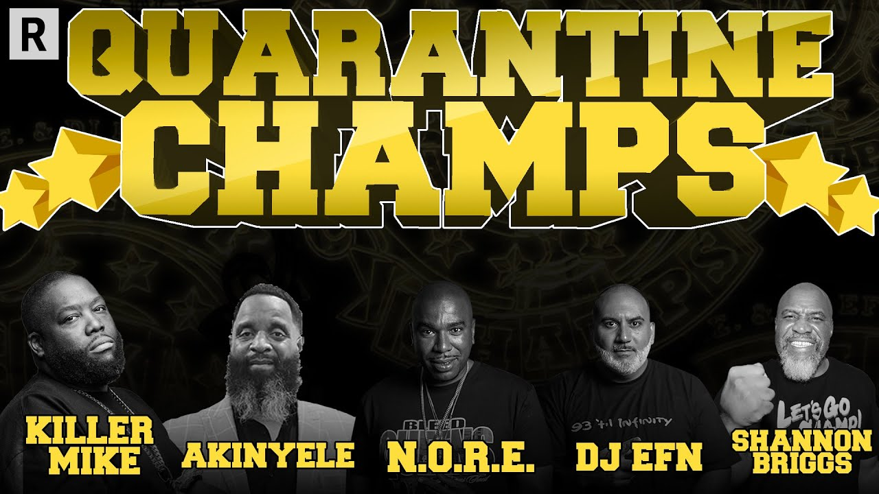 Killer Mike On Black Demands, Shannon Briggs vs Mike Tyson, Akinyele On Verzuz & More | Drink Champs
