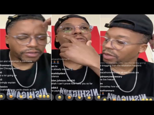 Lupe Fiasco Finds Out FBG Duck Just Passed While On IG Live! Reacts & Mourns FBG Duck