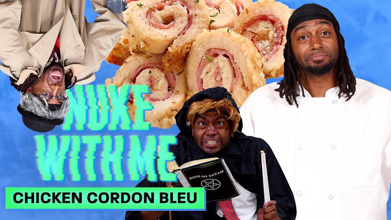 Marlon Makes Chicken Cordon Bleu in His Microwave | Nuke With Me