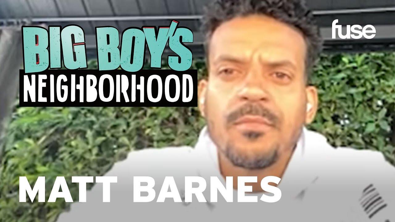 Matt Barnes Shares His Personal Experience Racism | Big Boy x Fuse