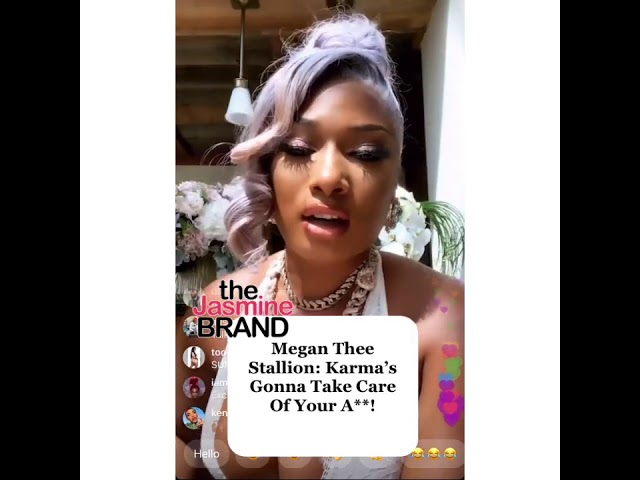 Megan Thee Stallion Addresses Being Shot, Allegedly By Tory Lanez
