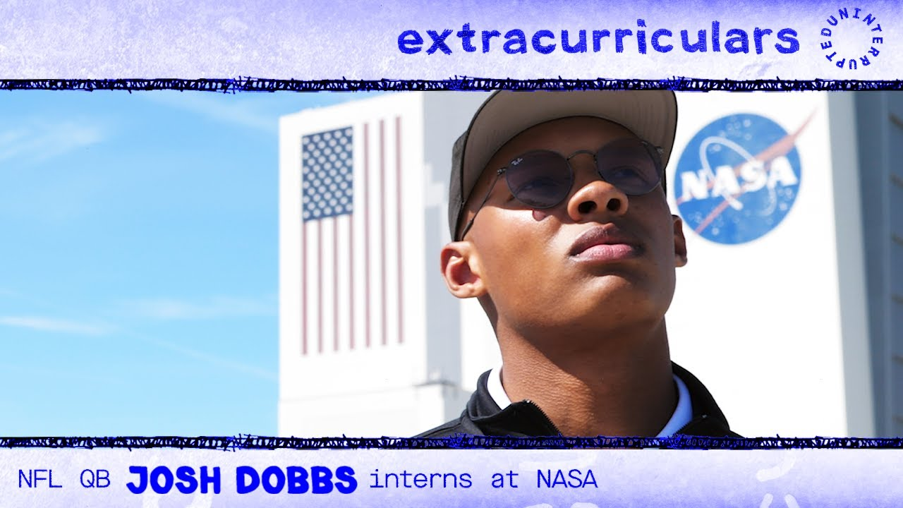 NFL QB and rocket scientist Josh Dobbs interns at NASA   EXTRACURRICULARS