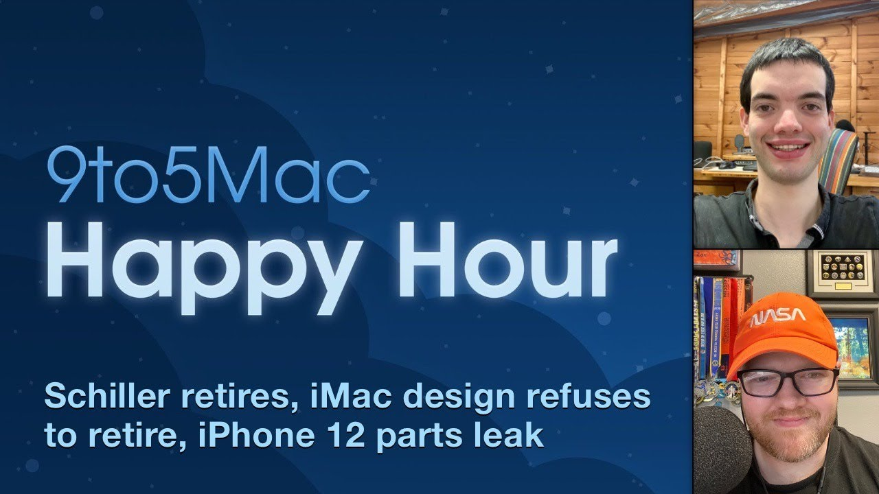 Schiller retires, iMac design refuses to retire, iPhone 12 parts leak