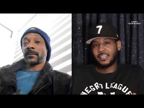 Snoop Dogg | What's In Your Glass | Carmelo Anthony