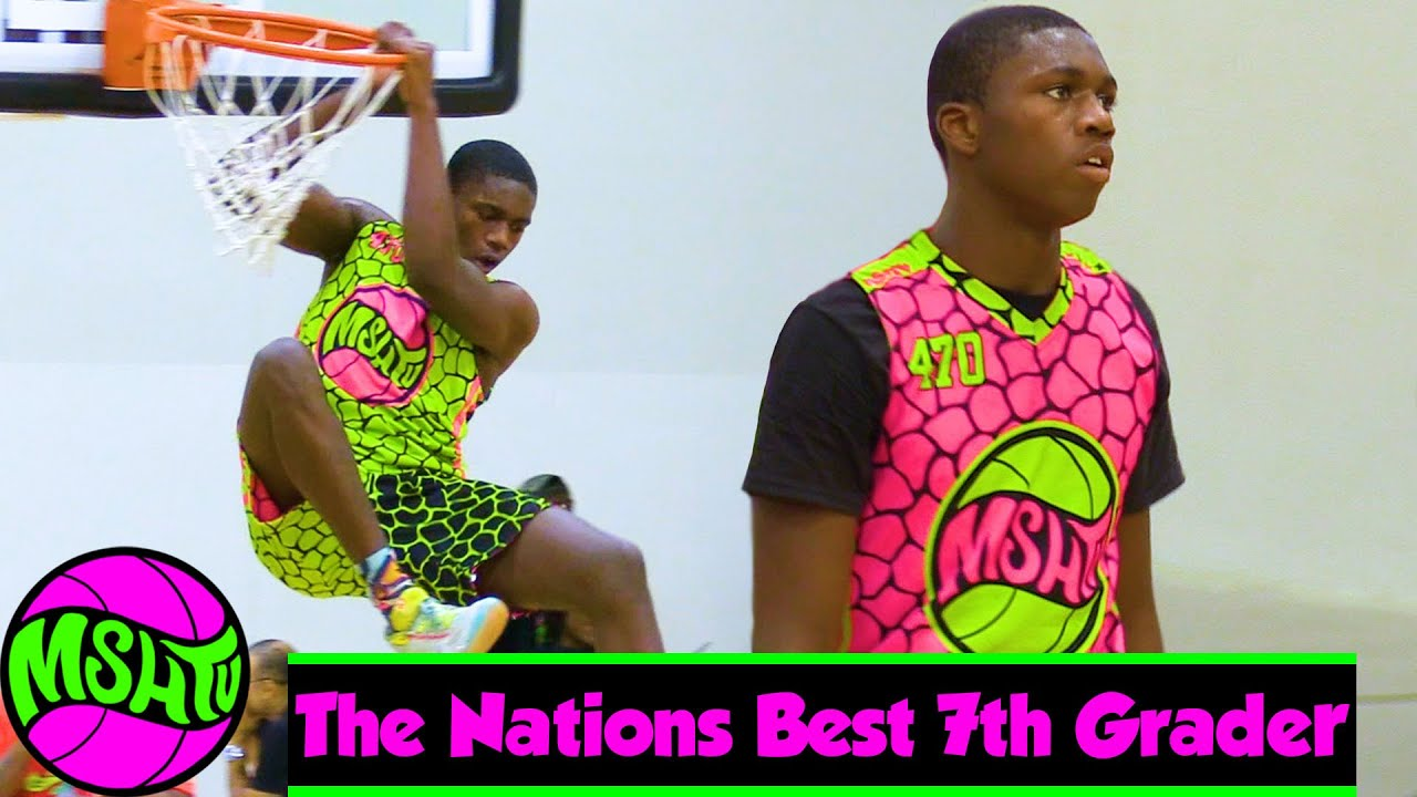 The #1 7th GRADER in the COUNTRY - Jamal Brown at MSHTV Camp