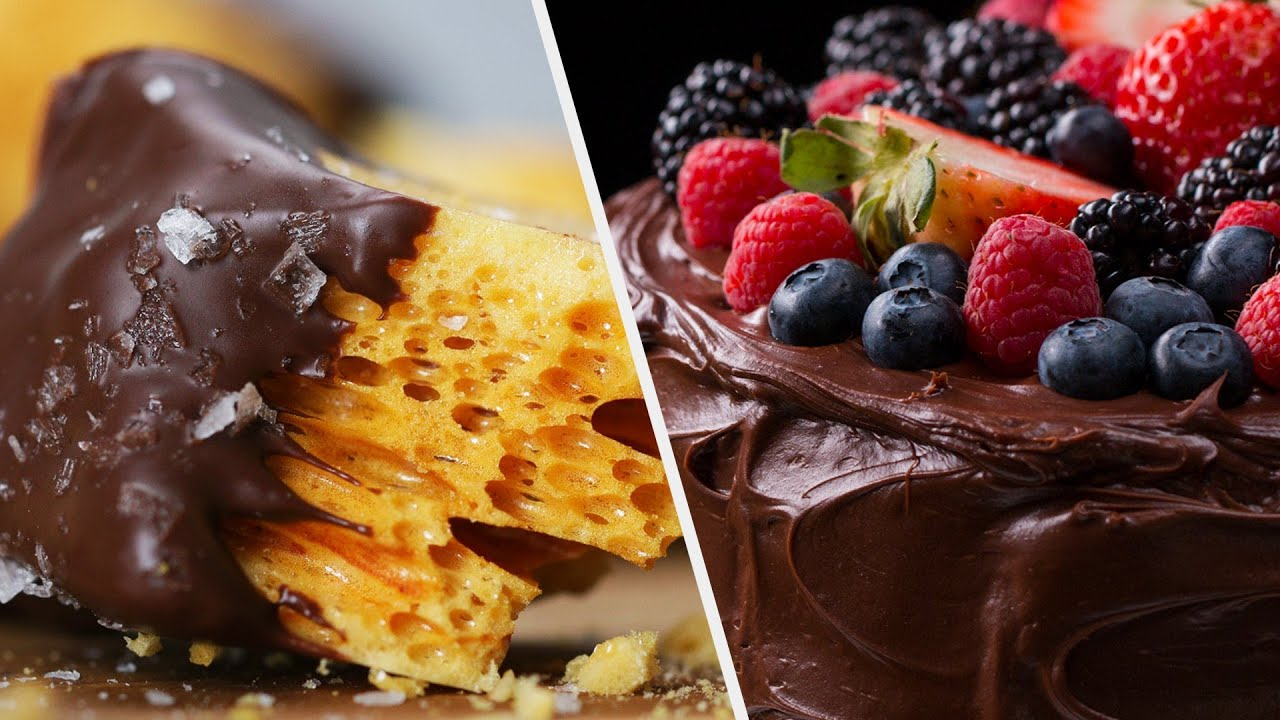 The Best Dairy-Free Desserts To Make At Home