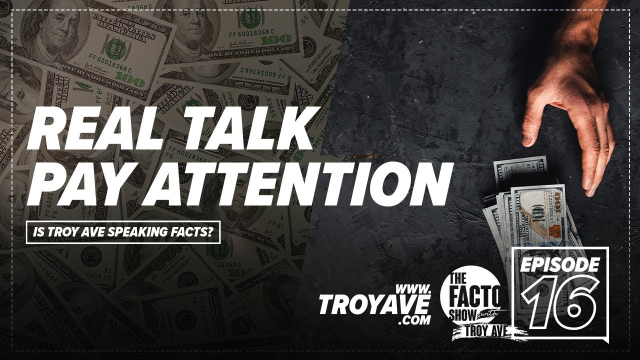 """THE FACTO SHOW (CLIPS) """"Real Talk Pay Attention"""" Episode 16"""