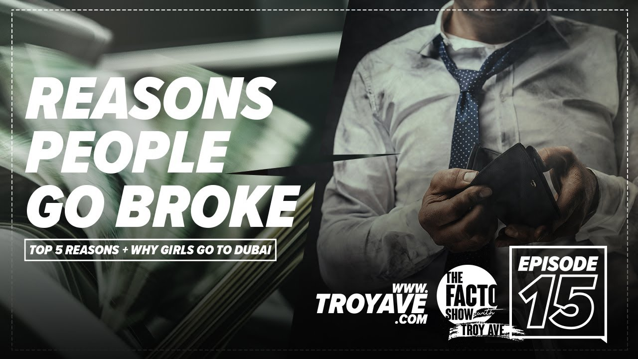 "THE FACTO SHOW (CLIPS) ""Top 5 Reasons People Go Broke"" Episode 15"