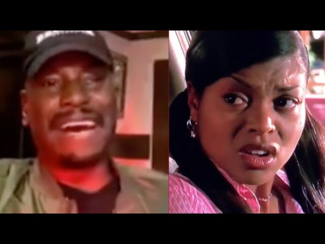 Tyrese Says Taraji P. Henson Was Dusty & Only Had $12 To Her Name Before Baby Boy