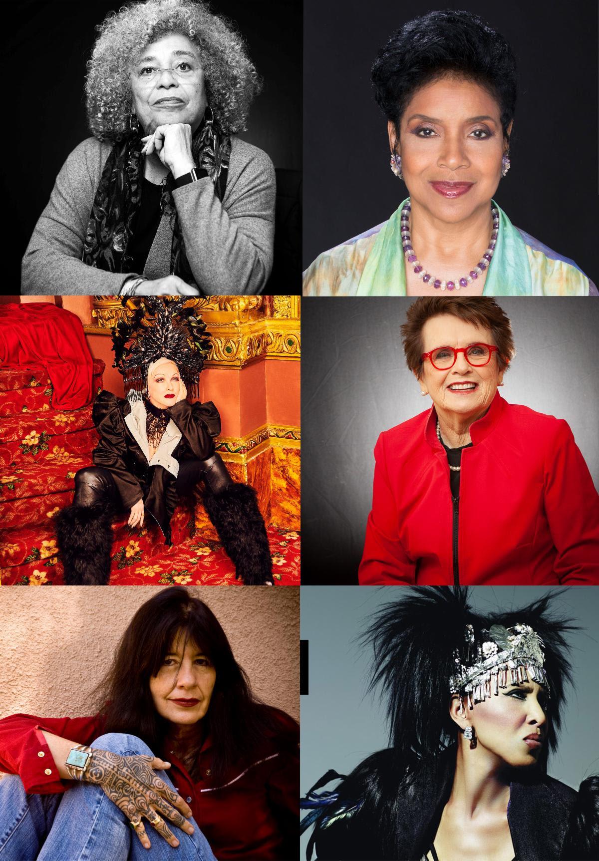 Cyndi Lauper, Phylicia Rashad, Billie Jean King, Joy Harjo Join Nona Hendryx and Angela Davis for 'Radical Healing' on August 14