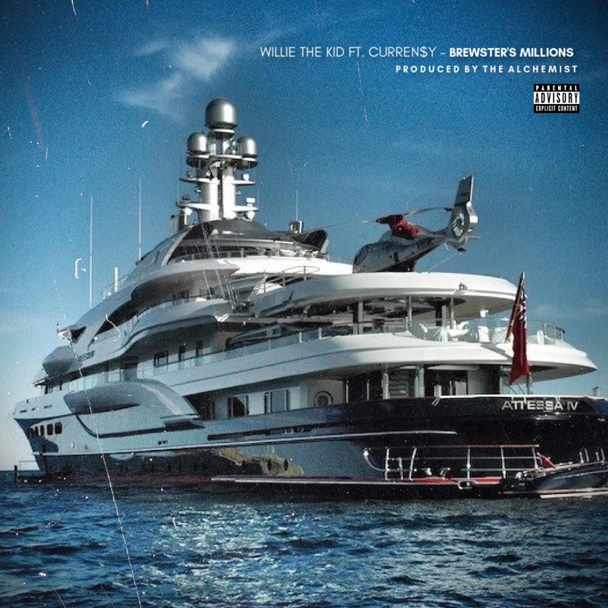 Willie the Kid feat. Curren$y - Brewster's Millions