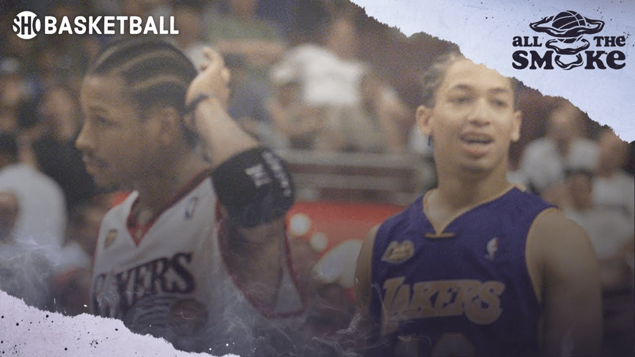 Allen Iverson Remembers Infamous Ty Lue Step Over In 2001 Finals | ALL THE SMOKE | SHOWTIME BOXING