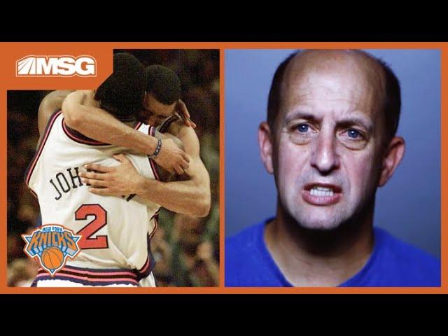 Larry Johnson's 4-Point Play | New York Knicks Greatest Moments