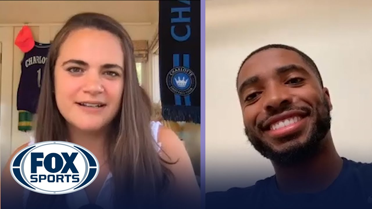 Mikal Bridges on the Suns' 8-0 Run and Life Inside the NBA Bubble with Charlotte Wilder | FOX SPORTS
