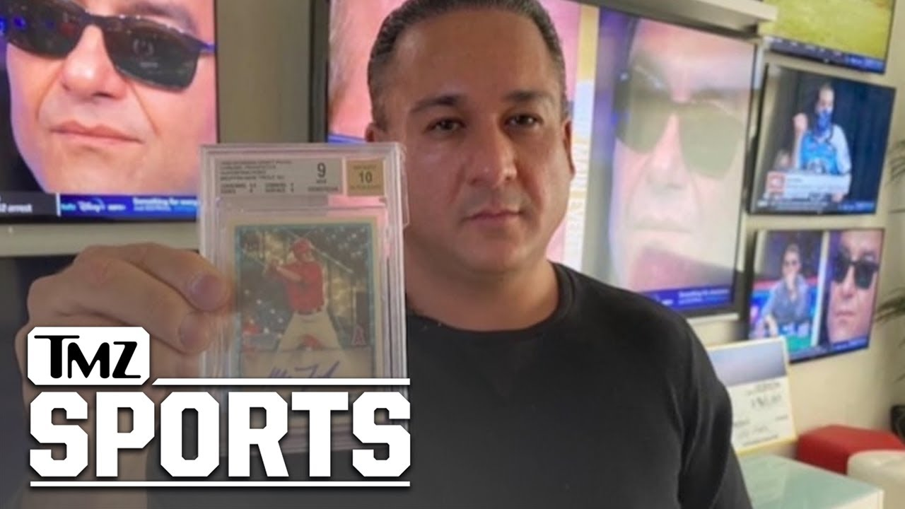 Mike Trout Rookie Card Fetches $4 MILLION For Vegas Dave | TMZ Sports