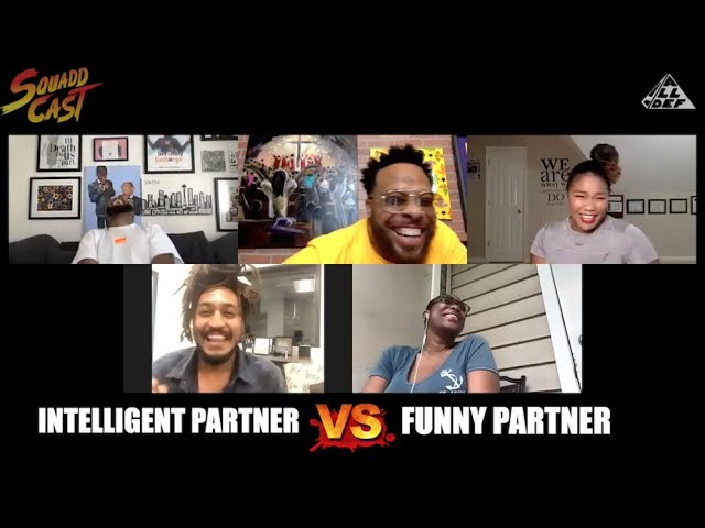 Most Important In A Partner; Intelligent vs Funny | SquADD Cast Versus | Ep 38 | All Def