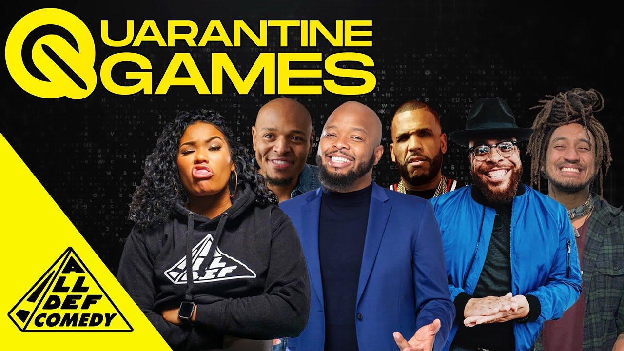 Quarantine Games | Ep 22: Incoherent | All Def