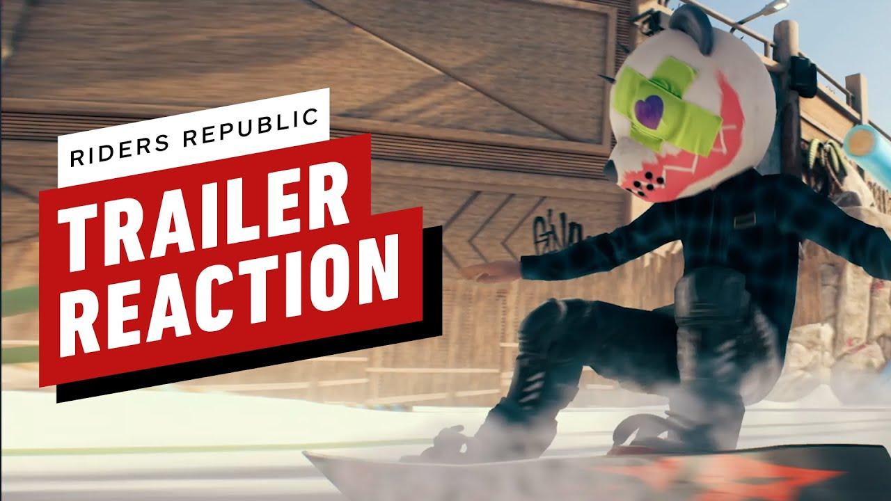 Riders Republic Trailer: Predict + React