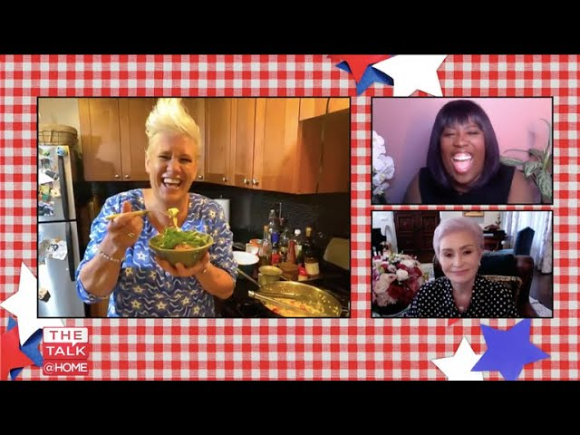 The Talk - 'Food for the 4th': Chef Anne Burrell Prepares Summer Pasta