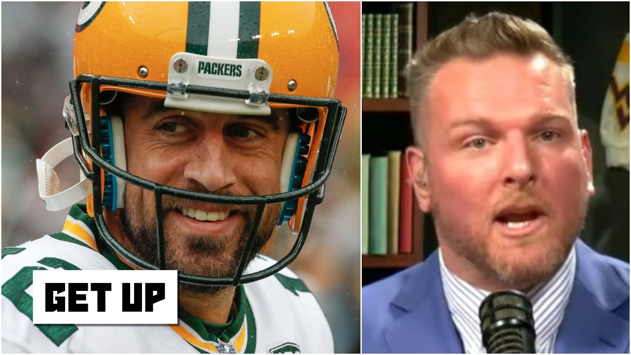 The whole NFL is in trouble with this version of Aaron Rodgers - Pat McAfee | Get Up