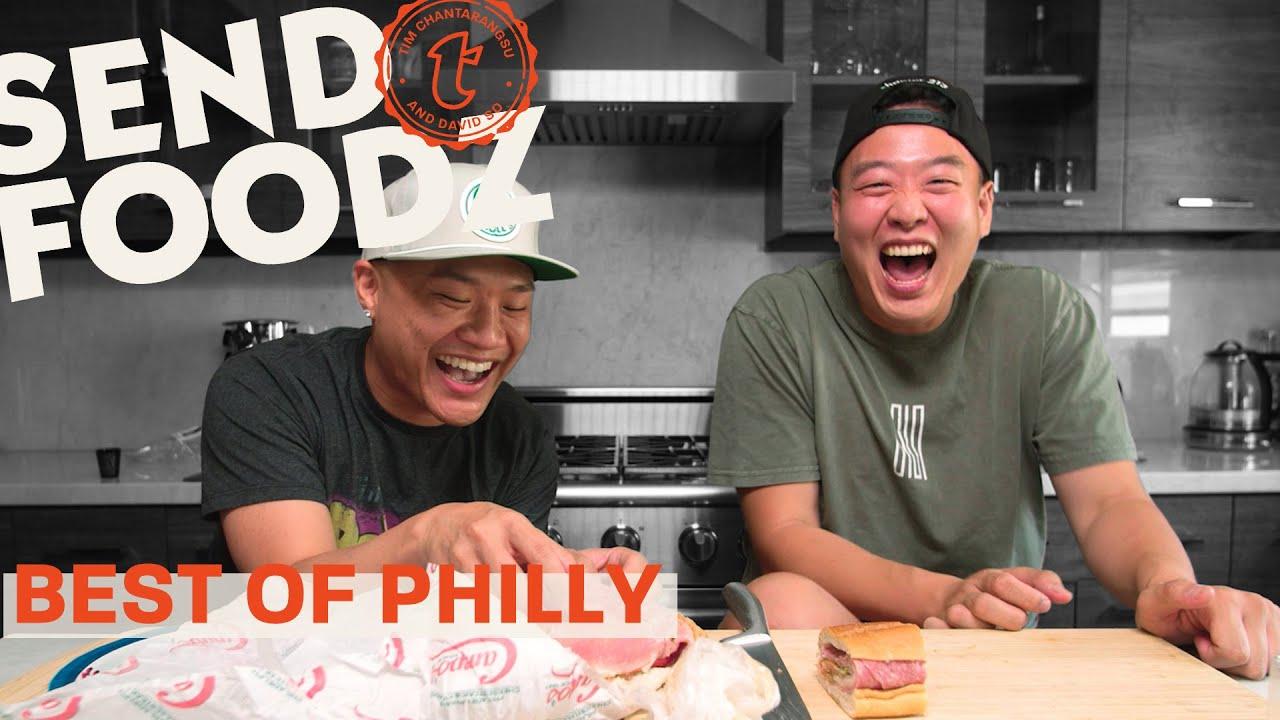Tim and David Take a Food Tour of Philadelphia | Send Foodz