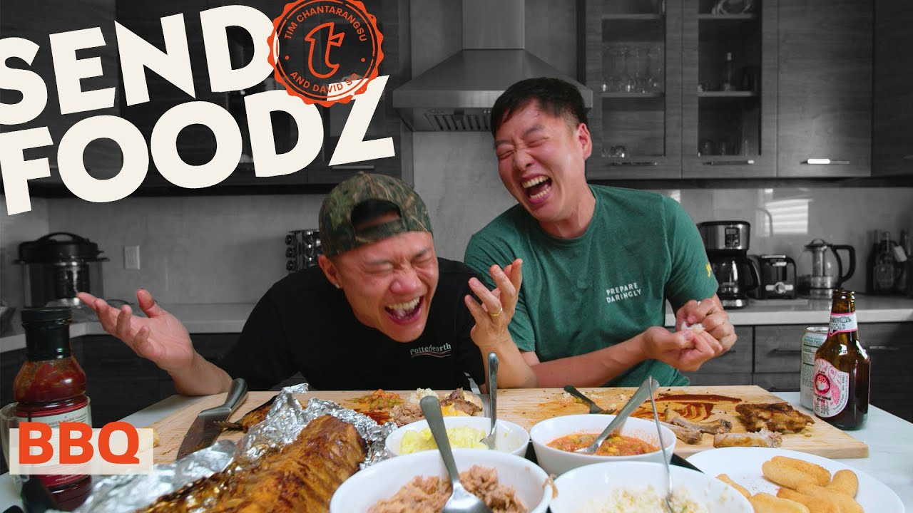 Tim and David Try the Best Barbecue From Around the Country   Send Foodz
