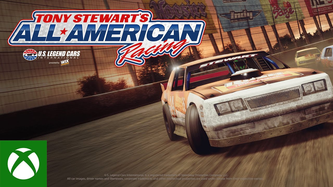 Tony Stewart's All-American Racing Gameplay Trailer