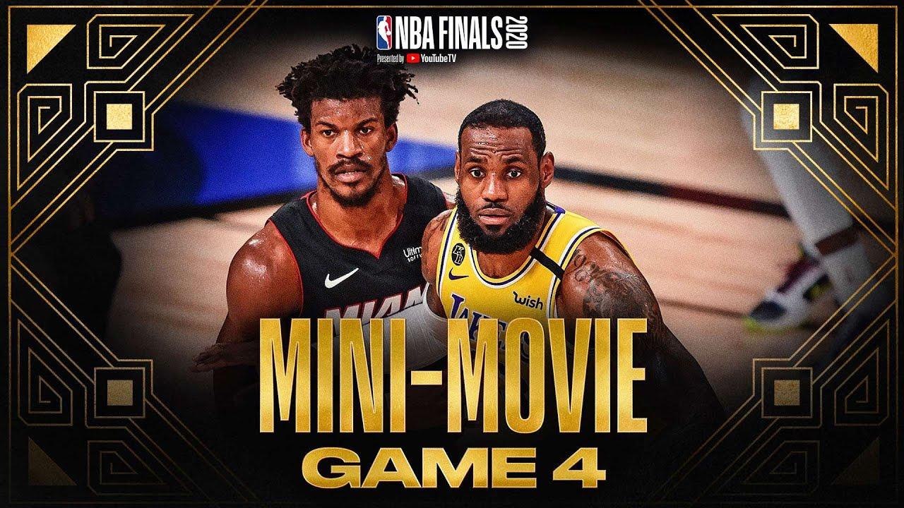 2020 #NBAFinals Game 4 Mini-Movie: Lakers Take 3-1 Lead