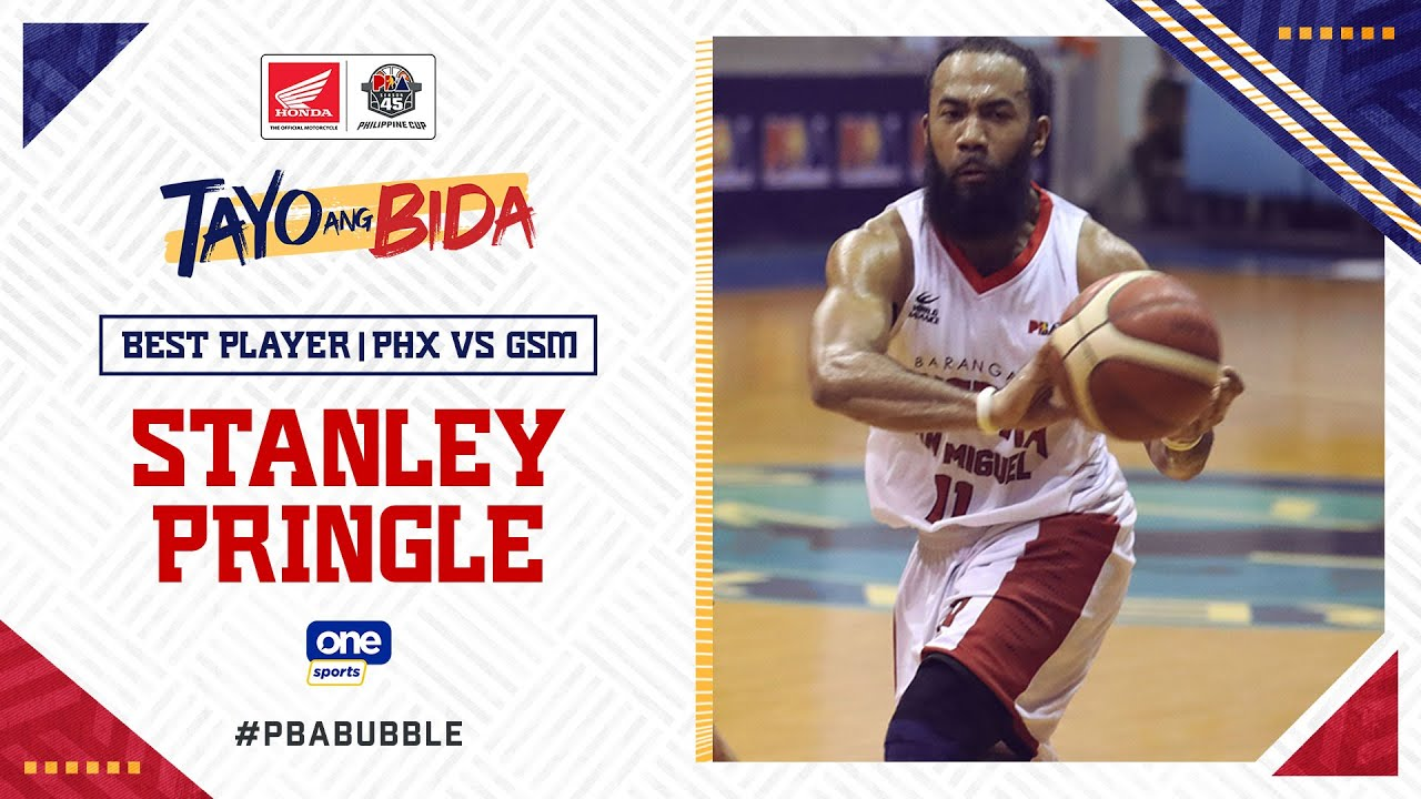 Best Player: Stanley Pringle   PBA Philippine Cup 2020