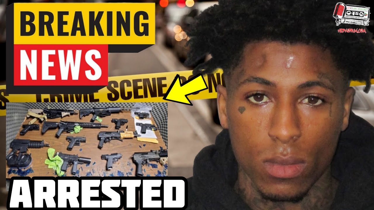 BREAKING: NBA Youngboy Arrested With All Of This?