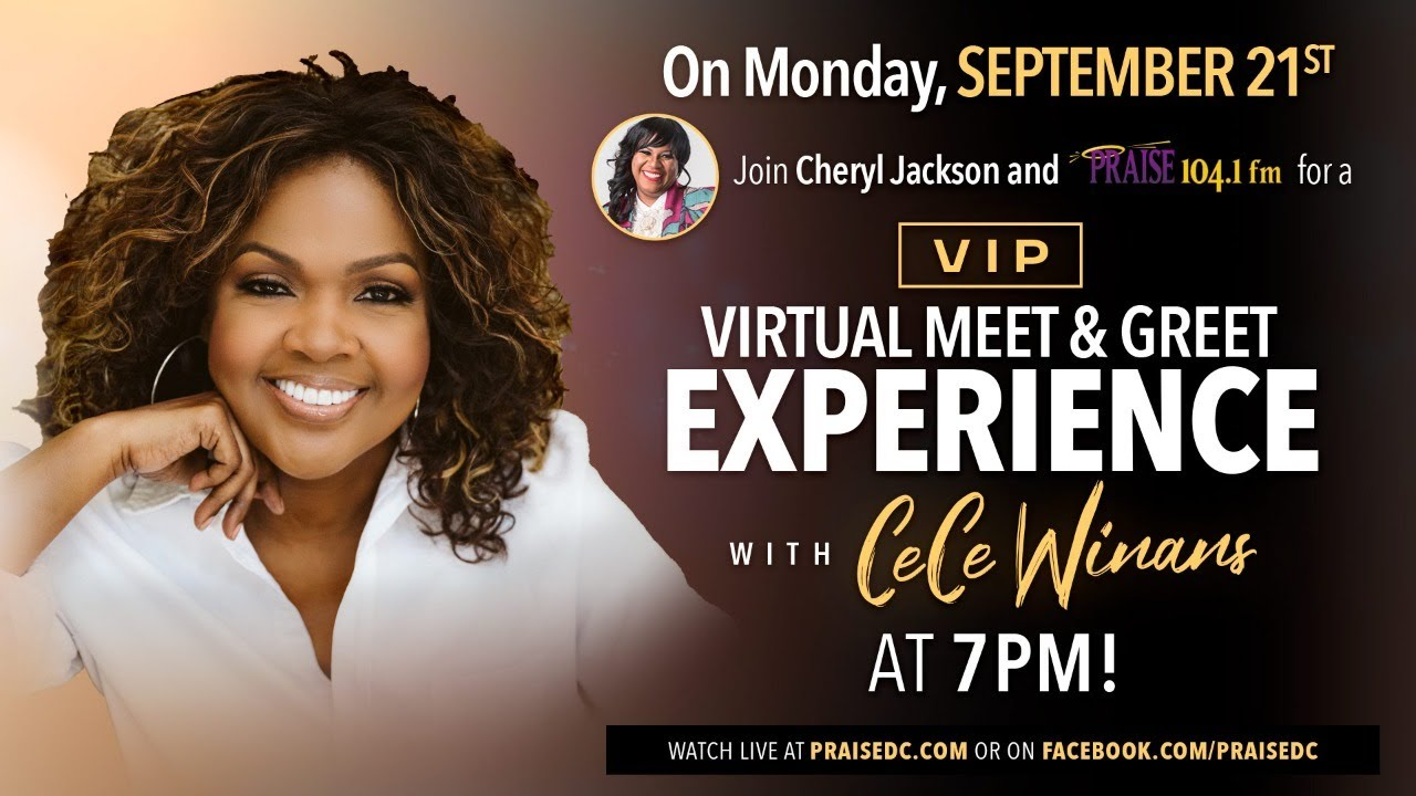 Cheryl Jackson Exclusive VIP Chat With CeCe Winans [Watch Live]