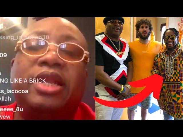 E-40 Impersonates Lil Jon Making E 40's Biggest Hits In Outkast's Studio