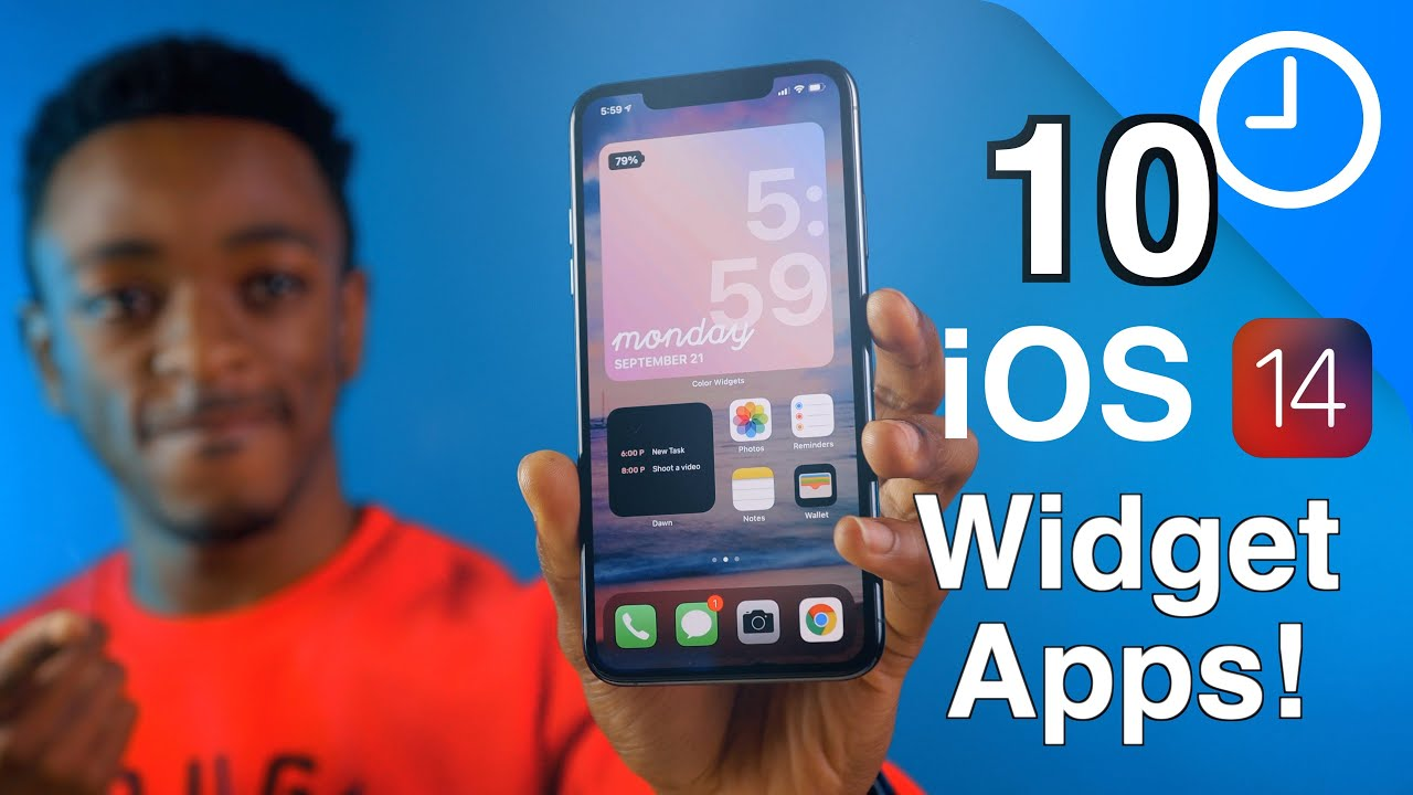 iOS 14 - 10 Widget Apps You Should Try!