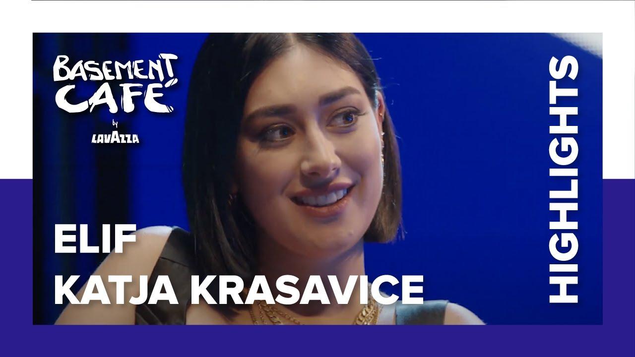 Katja Krasavice und Elif: Schlechte Ex-Manager und Vertrauen in die Musikindustrie   Basement Café